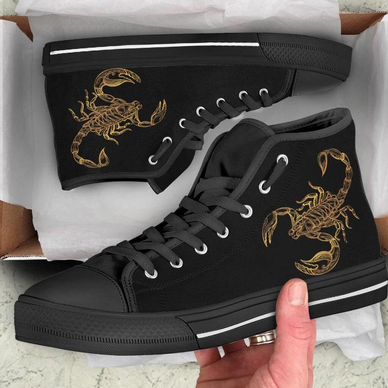 b7324bbb7068 Scorpio Zodiac Men s And Women s Shoes Scorpion Shoes