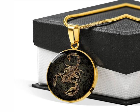 Scorpio Horoscope Present Personalized Scorpio Zodiac Bangle Scorpio Lover Gift Engraved Scorpion Gifts Luxury Customized Circle Bangle