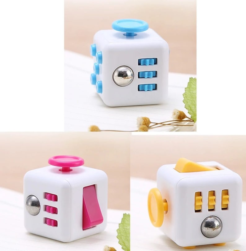 Preorder Cube fidget toy ASD ADHD Calming sensory focus learning toy