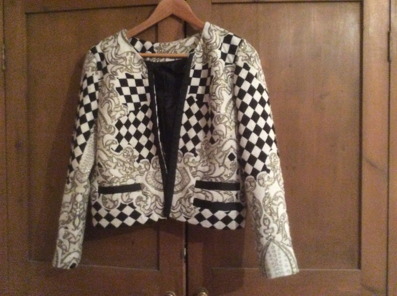 Handmade 90s women\u2019s short jacket