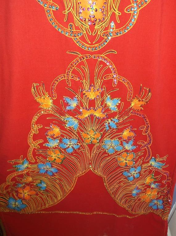 Sparkle embroidered beaded kaftan,caftan Hand mad… - image 4