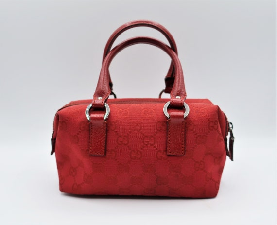 Gucci Joy Boston Mini Monogram GG Bag