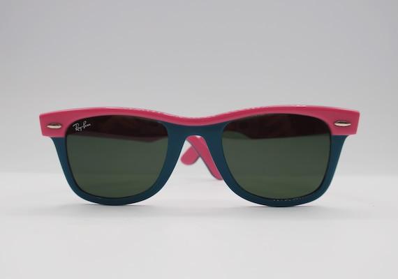 RayBan Pink Wayfarer Sunglasses