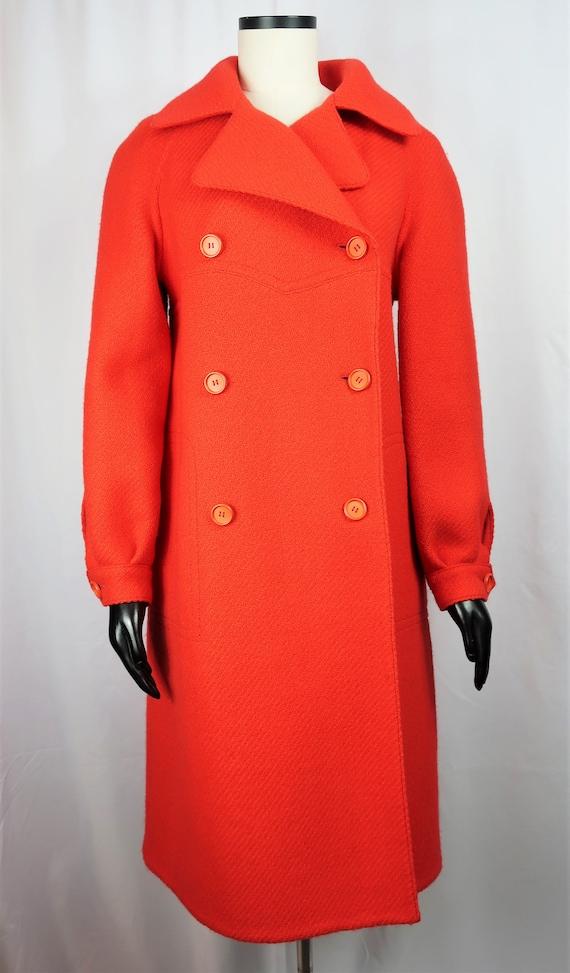 Hermès Red Wool Coat