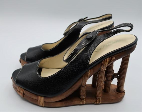 Prada Platform Sandals - image 2