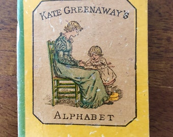 First Edition - Kate Greenaway ALPHABET