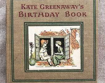 Kate Greenaway Birthday Book.
