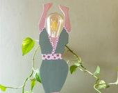 Amaya Kimono Lamp