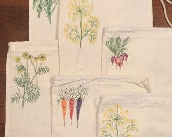 Set of 3 Produce/Bulk Shopping Bags