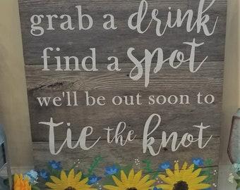 Custom Drink Sign
