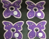 Butterfly G-Tube Pads G Tube covers Mic-Key AMT Mini One feeding tube pads Tubie Pads