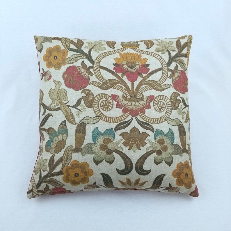 Inchyra Decorative 18 Throw Pillow Covers ONLY All Saints Linen Bold