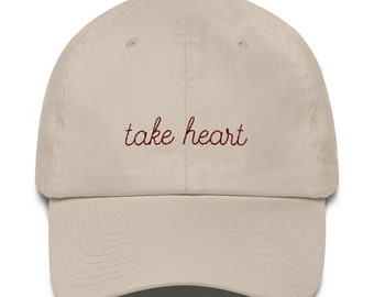 Take Heart Cotton Cap