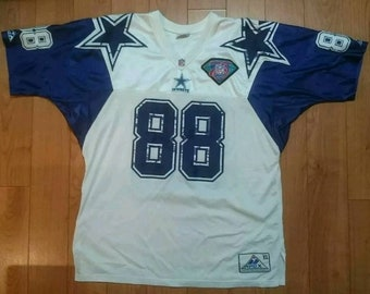 88276700b Vintage 90s Dallas Cowboys Michael Irvin Jersey XL Extra Large Apex One  Starter Puffer nfl football VTG Champion Shirt Tee Coat