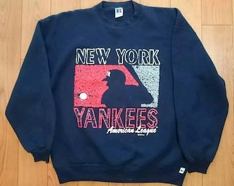 a3f2c828d03d8 1995 Russell Athletic MLB New York Yankees Pullover Sweater XL Starter  Salem VTG