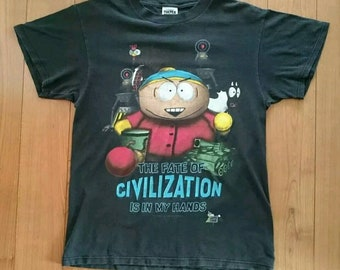 8d359ee768d Official 1998 South Park Shirt XL Extra Large Comedy Central Cartman Stan  Kyle Kenny Simpsons Family Guy Vintage vtg tee