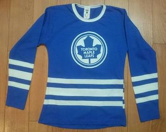 f71ec16aa York Originals Vintage 1980 s Toronto Maple Leafs Jersey Sweater S Small  NHL Hockey vtg shirt Sweatshirt tee
