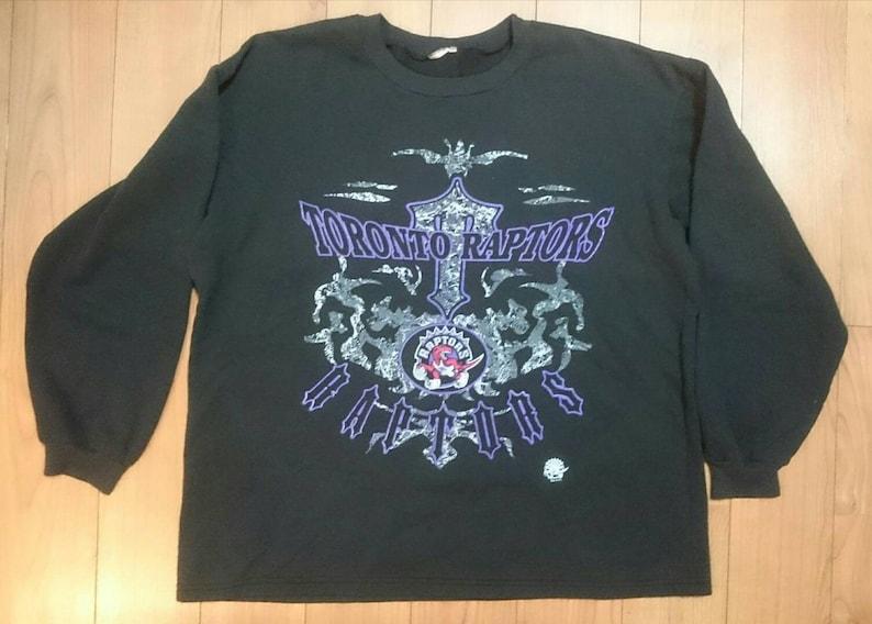e592a4259 Vintage 90s Toronto Raptors Long Sleeve Shirt XL Extra Large