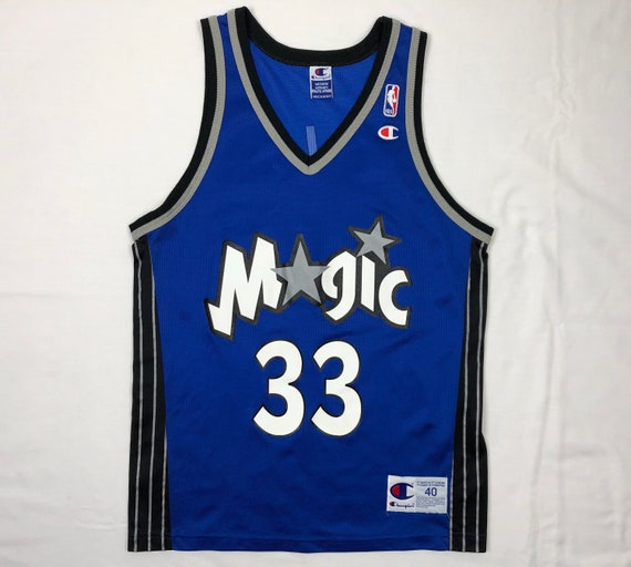 f6fc82999aa5 Vintage Champion Orlando Magic Grant Hill Mens Blue Nba