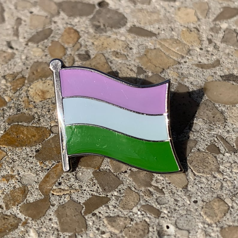 The Guiliani Genderqueer LGBTQ Pride Flag image 0