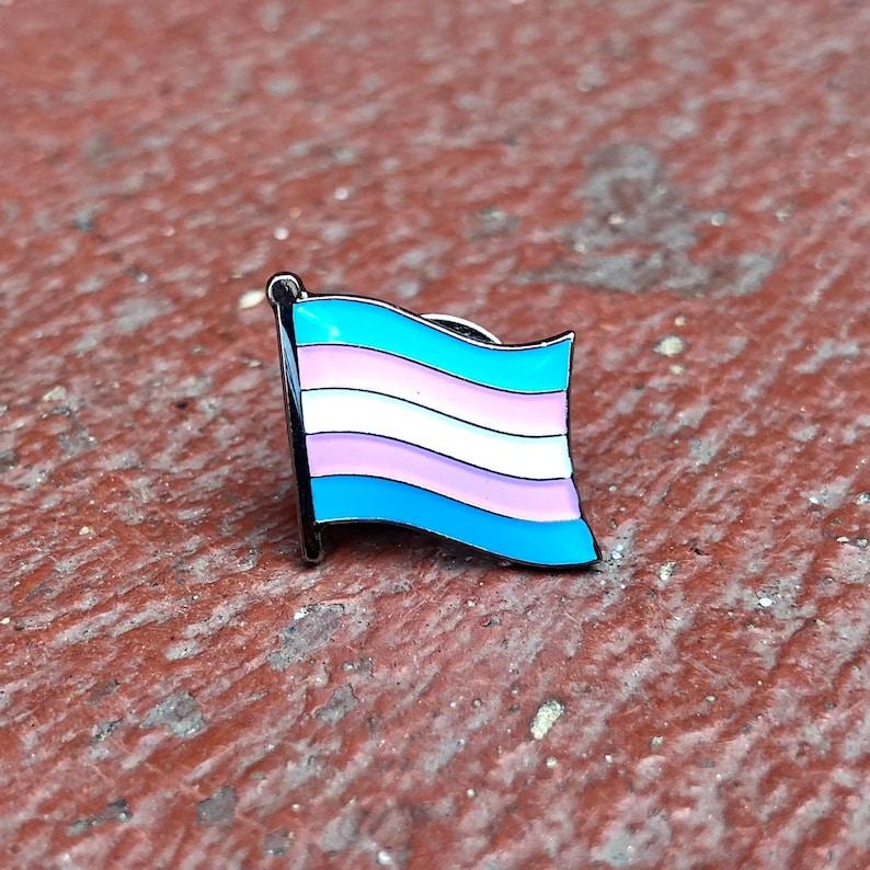 The Mattis Transgender LGBTQ Pride Flag image 0