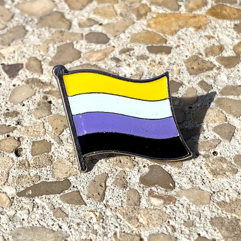 The DeVos Non-Binary LGBTQ Pride Flag image 0