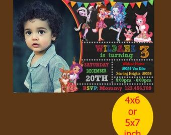 Enchantimals Birthday Invitation, Enchantimals Invitation, Enchantimals Birthday, Enchantimals Party, Printable, Instant Download