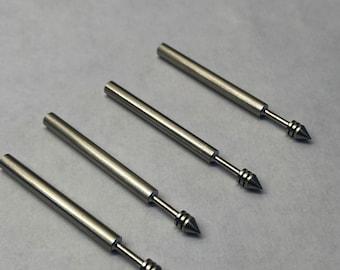Machined Stainless steel mandolorian boba fett gauntlet wrist darts