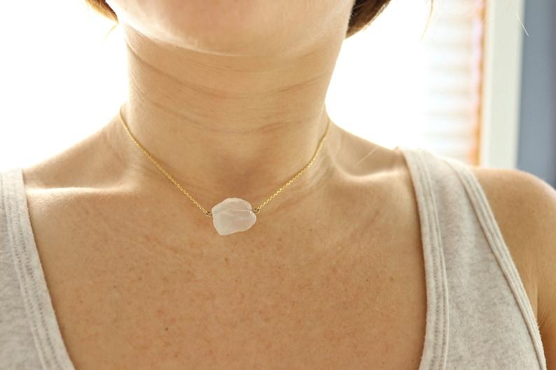 Healing Quartz Crystal Necklace