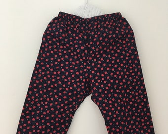 Strawberry toddler trousers