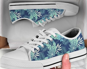 42a4837638 Tropical Leaves Shoes