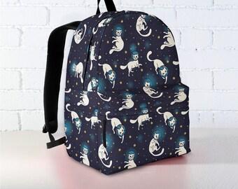 dc5a5c2e81432e Cat Backpack | Cat Backpack Kid | Cat Backpack Adult | Cat Lover | Cat Gift  | Cat