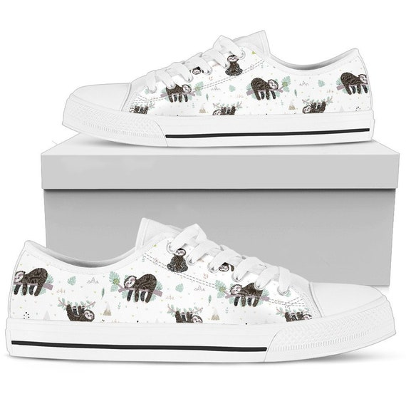 Sloth Sloth Converse Sloth Sloth Shoes Sneakers With Sneakers Sloth Shoes Women For Sloth Giftt Style Shoes Women Aq8cxS