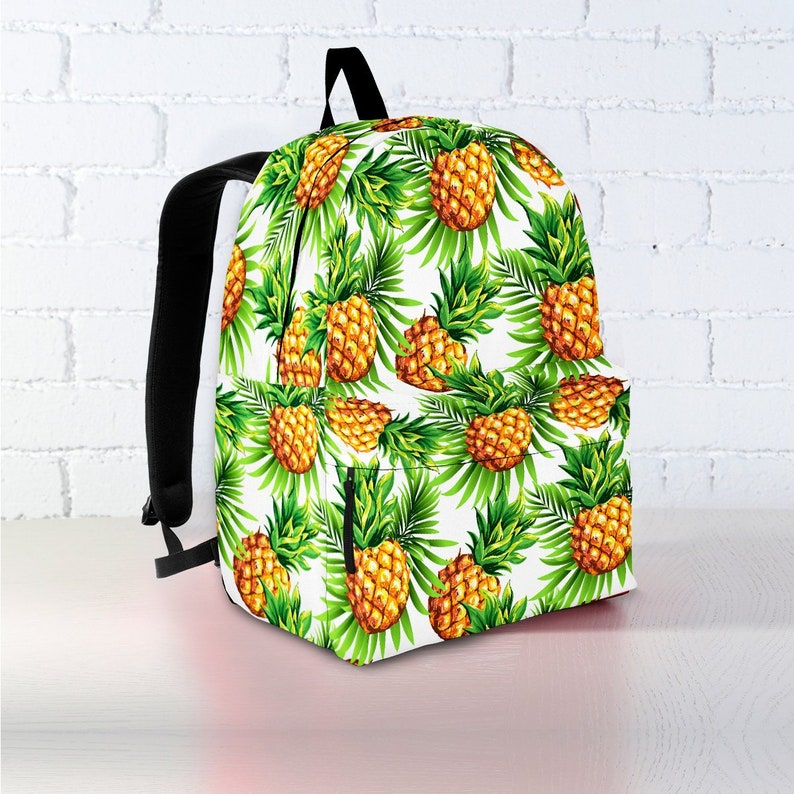ed61f9dde259 Pineapple Backpack | Backpack | Backpack Women | Canvas Backpack | Laptop  Backpack | Vegan Backpack | Pineapple Gift | Pineapple
