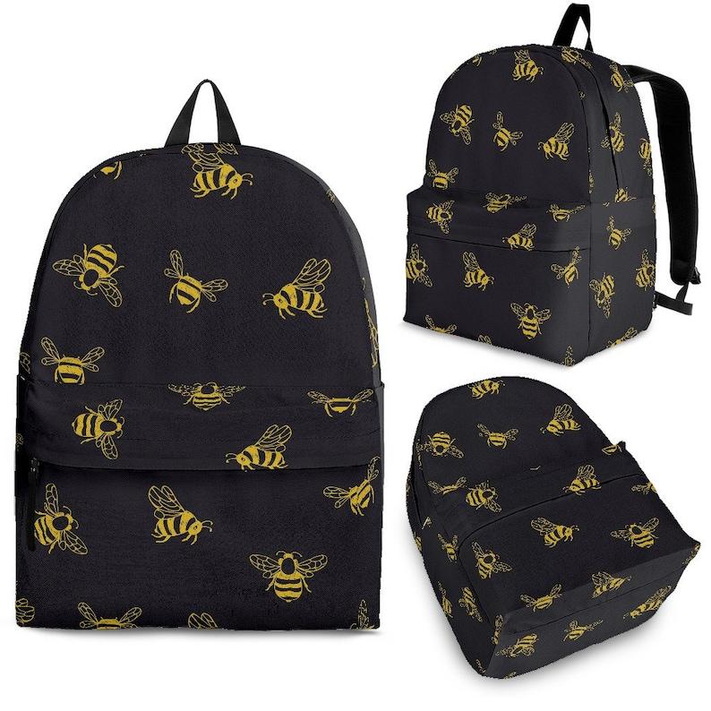 Bee Bee Lover Bee Gift Bee Backpack Kid Bee Backpack Bee Backpack Adult