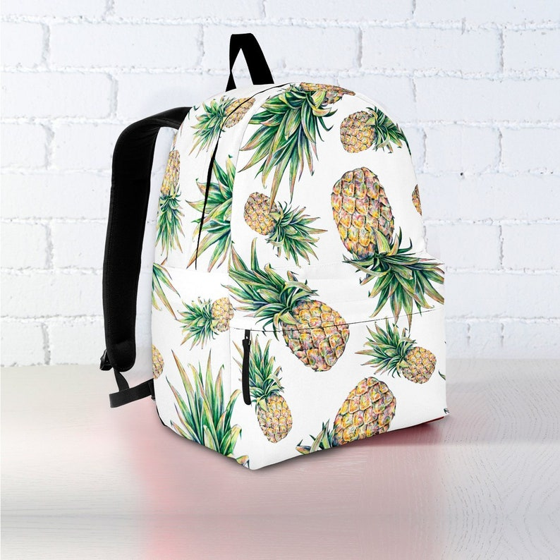 9f1cb888ab0a Pineapple Backpack | Backpack | Backpack Women | Canvas Backpack | Laptop  Backpack | Vegan Backpack | Pineapple Gift | Pineapple