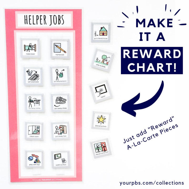 YOURPBS.COM 3 Chart Helper Job Chart