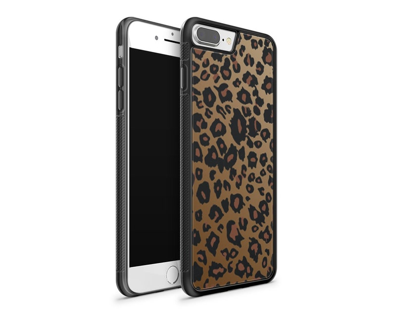 best service ce26f 06272 Leopard Print iPhone case / iPhone 7 case / iPhone 7 plus case / iPhone X  case / iPhone 8 plus case / iPhone 8 case / iPhone xs max case