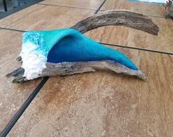 Driftwood Wave Art