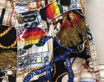 Moschino Mac Print Jeans