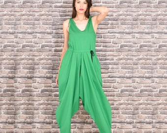 337336dbbc01 Green jumpsuit