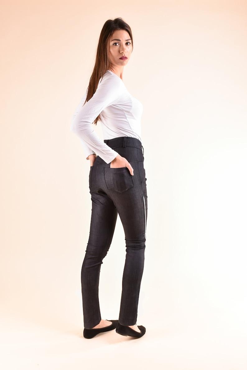 Urban Clothing Womens Pants Black Pants Jeans Pants Black Trousers Denim Pants Oversize Pants Slim Fit Pants Plus Size Clothing
