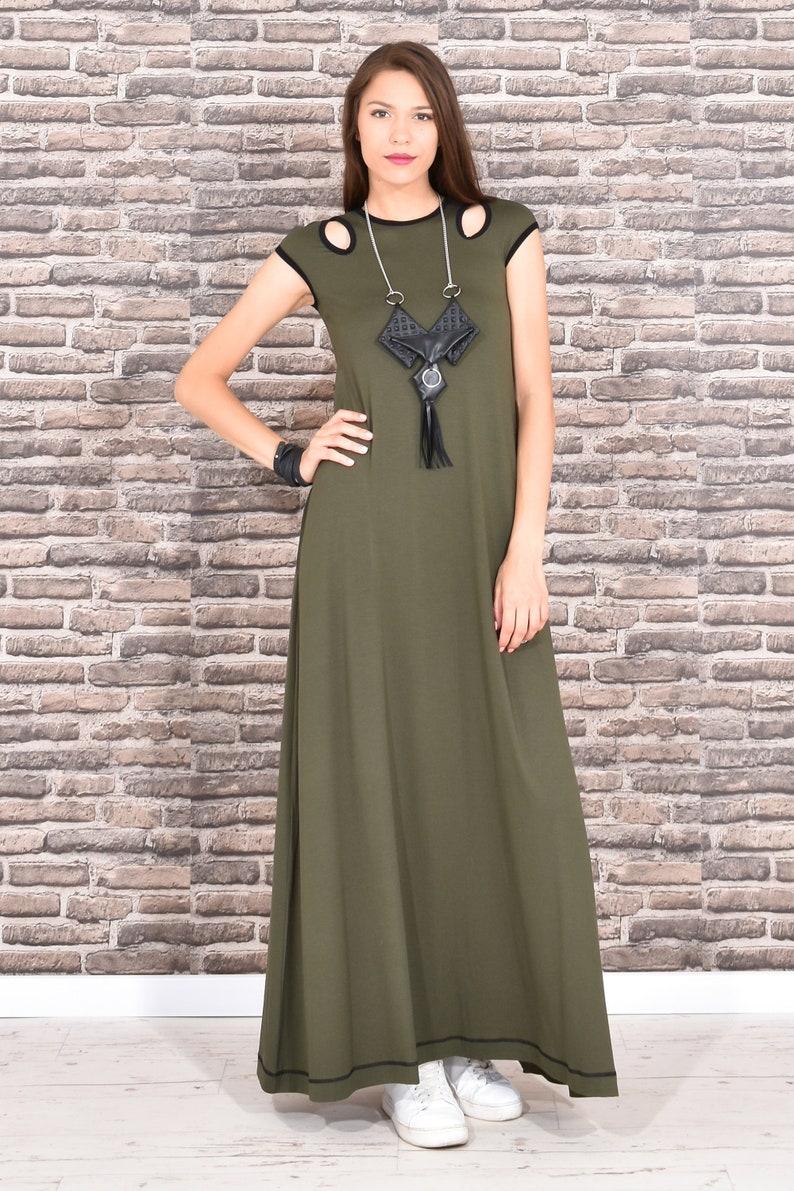 Plus Size Maxi Dress Plus Size Clothing Maxi Dress Green   Etsy