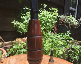 Hand made Crow call for shock gobbling a turkey.