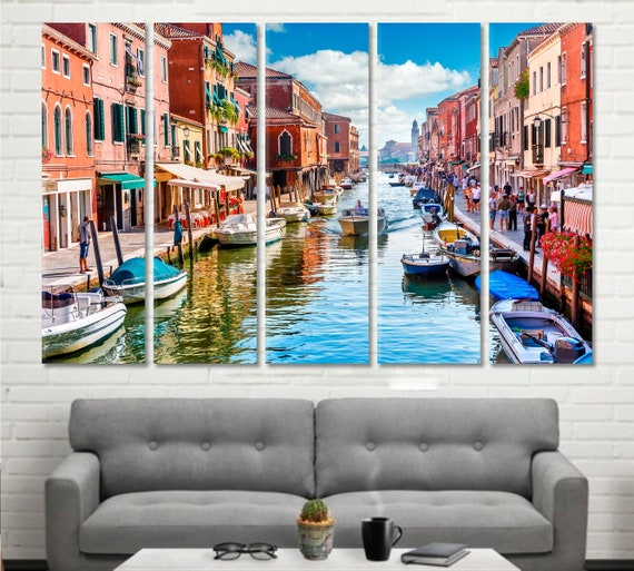 Venice canvas Venice wall art Venice wall decor Venice print | Etsy