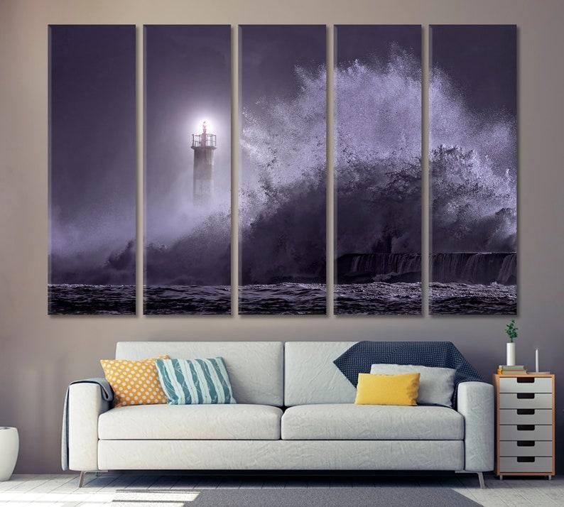 C Palm Beach Resort Art Print Home Decor Wall Art Poster