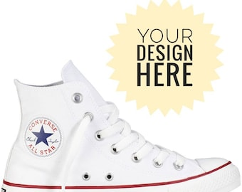 99c3a2bbab7a Custom converse with your design!