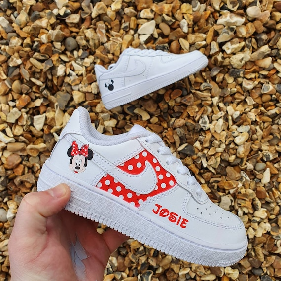 Minnie mouse nike air force 1   Etsy