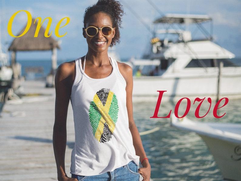 Jamaican Flag Women's Tank Top image 0
