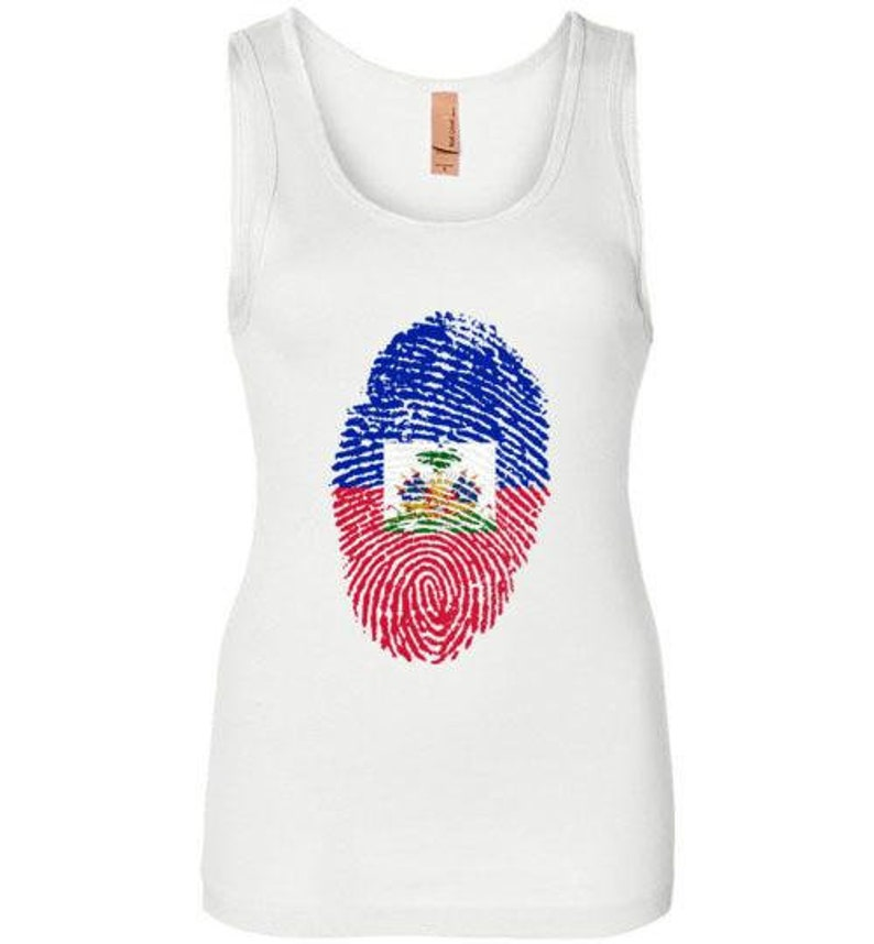 Haiti Haitian Flag Women's Tank Top image 0